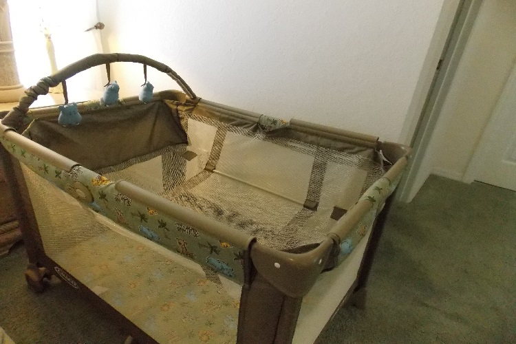 2 Baby Travel Cots